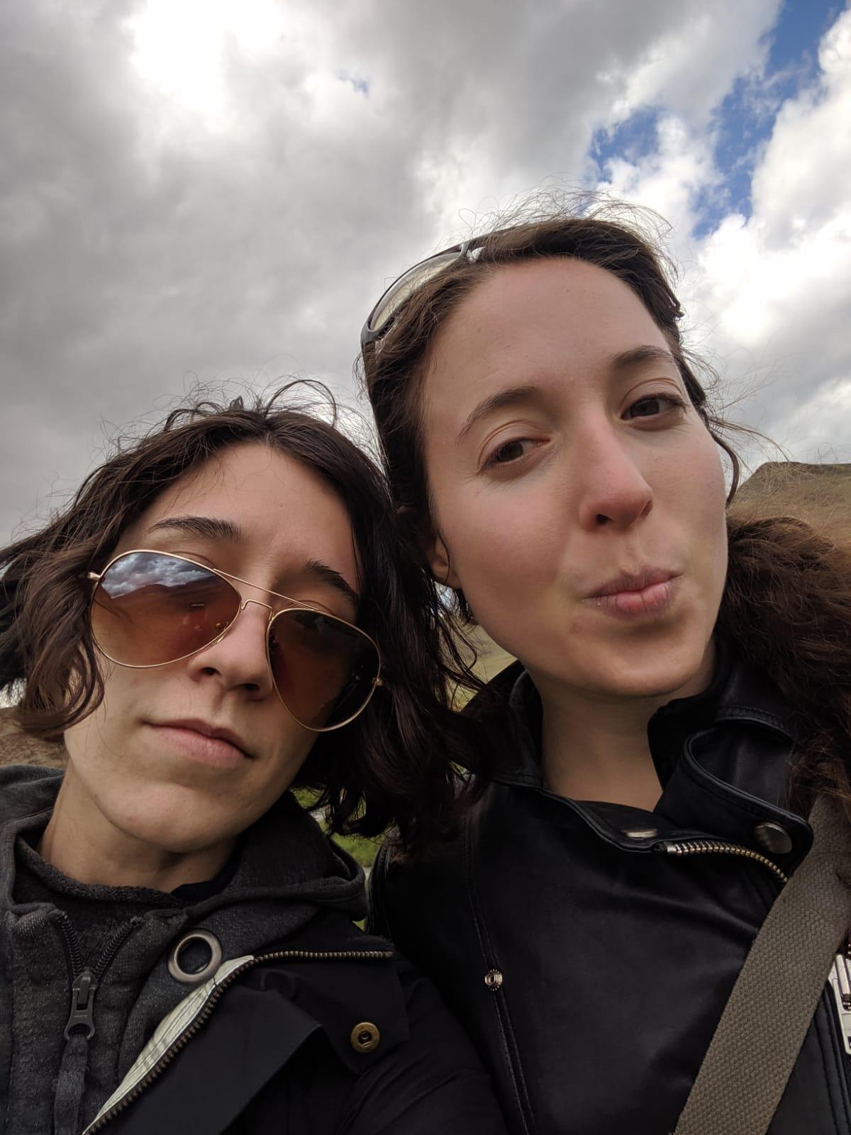 Elizabeth Weissberg and Ella Jacobson